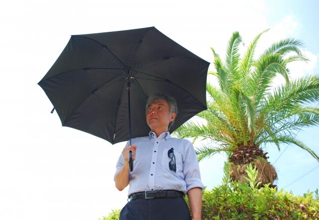 日傘 メンズ おすすめ 人気